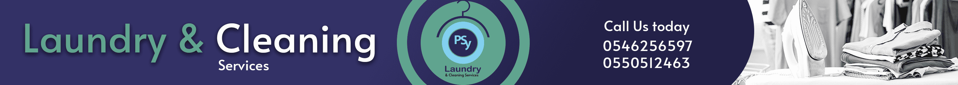 Psy Laundry service is one of ghana most reliable laundry service company.        we have the tood and materisla to make your clothing squickly cleaan to look new all the time.