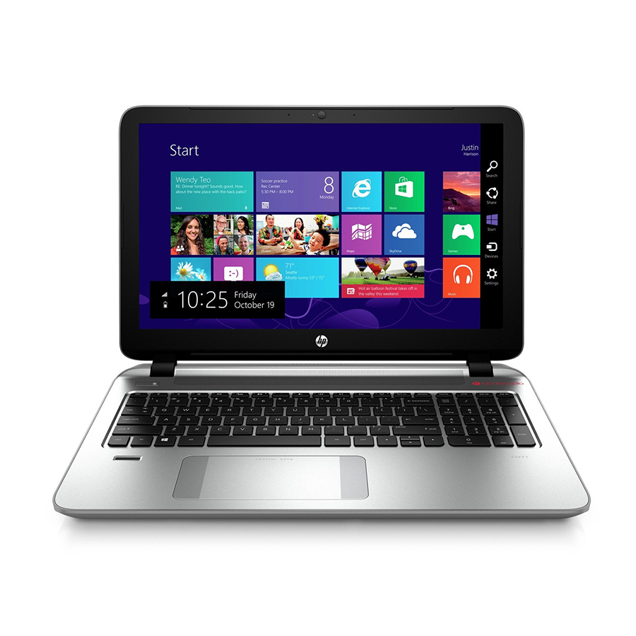 "hp 15.6"" envy 15-q420nr multi-touch notebook"