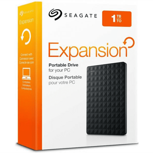 seagate 1tb expansion portable hard drives