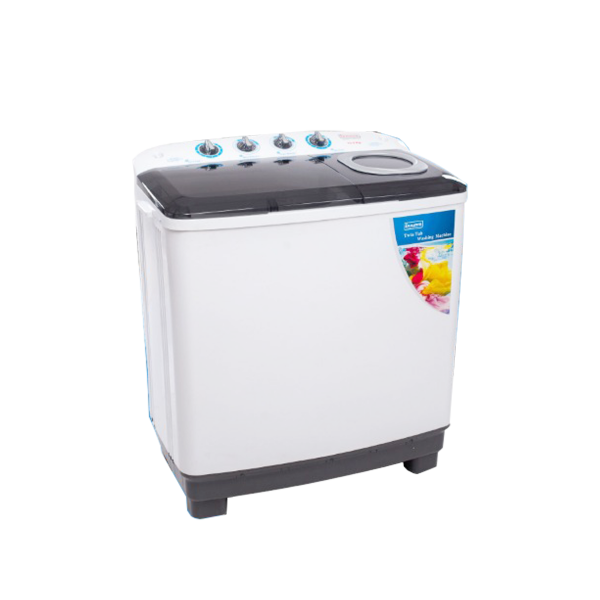 innova twin tub washing machine - 8kg top load  white