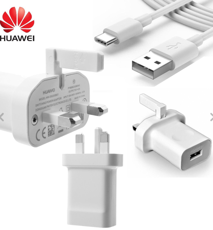 original huawei supercharge 9v /2a type c charger