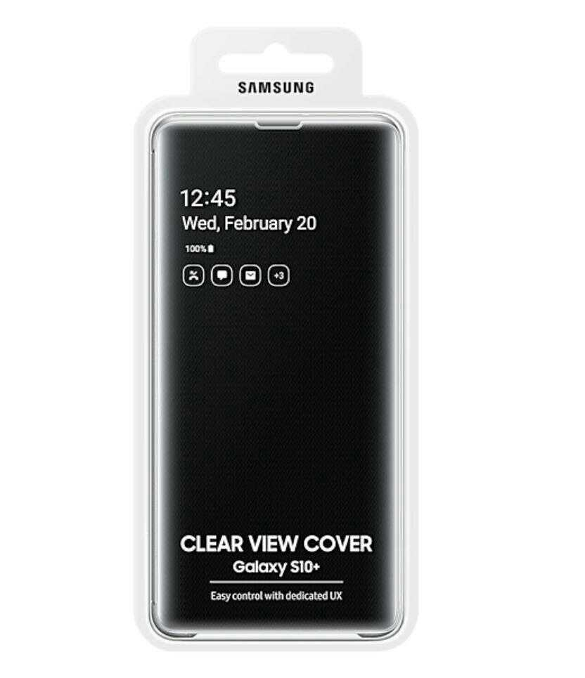 original samsung galaxy s10plus clear view cover