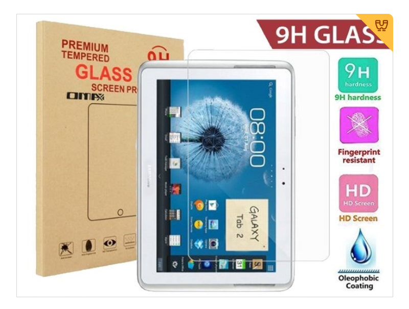 samsung galaxy tab2 10.1 p5100 tempered glass screen protector