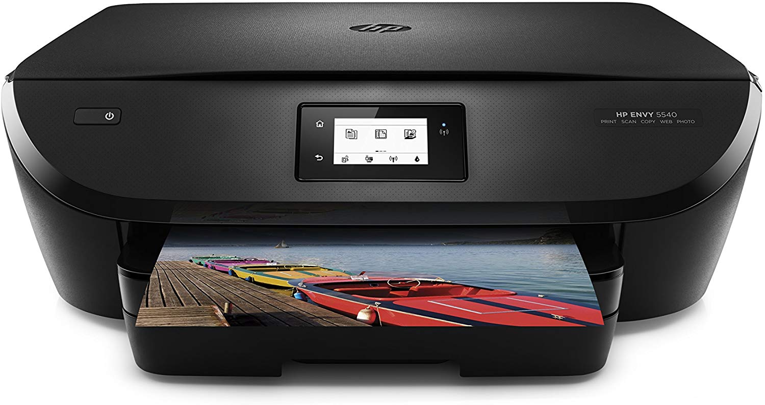 hp envy 5540 wireless all-in-one photo printer with mobile printing, instant ink ready