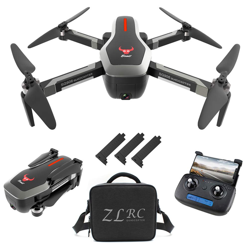 5g wifi fpv foldable brushless drone