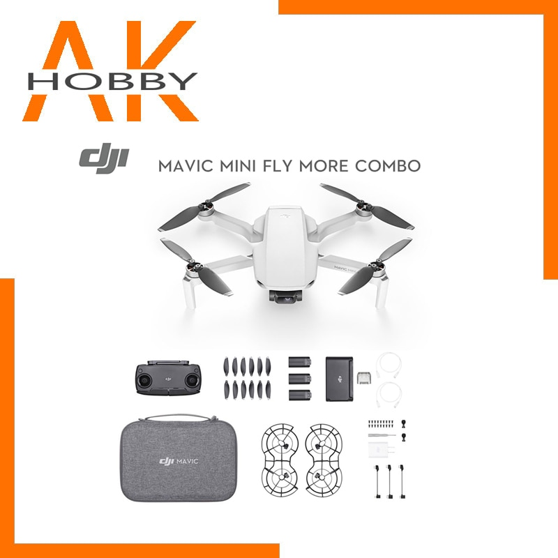 new arrival dji mavic mini fly more combo drone with 2.7k camera flight time 30 minutes fcc version