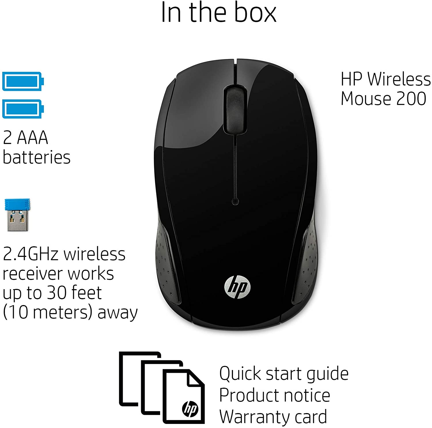 hp wireless mouse 200 2.4ghz