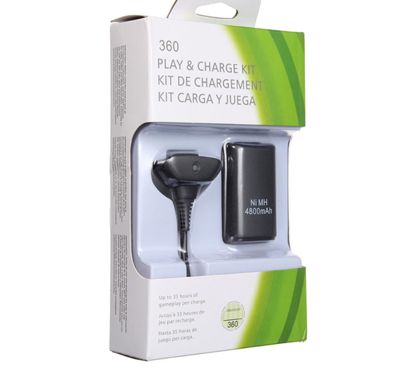 play and charge kit for xbox 360 wireless controller