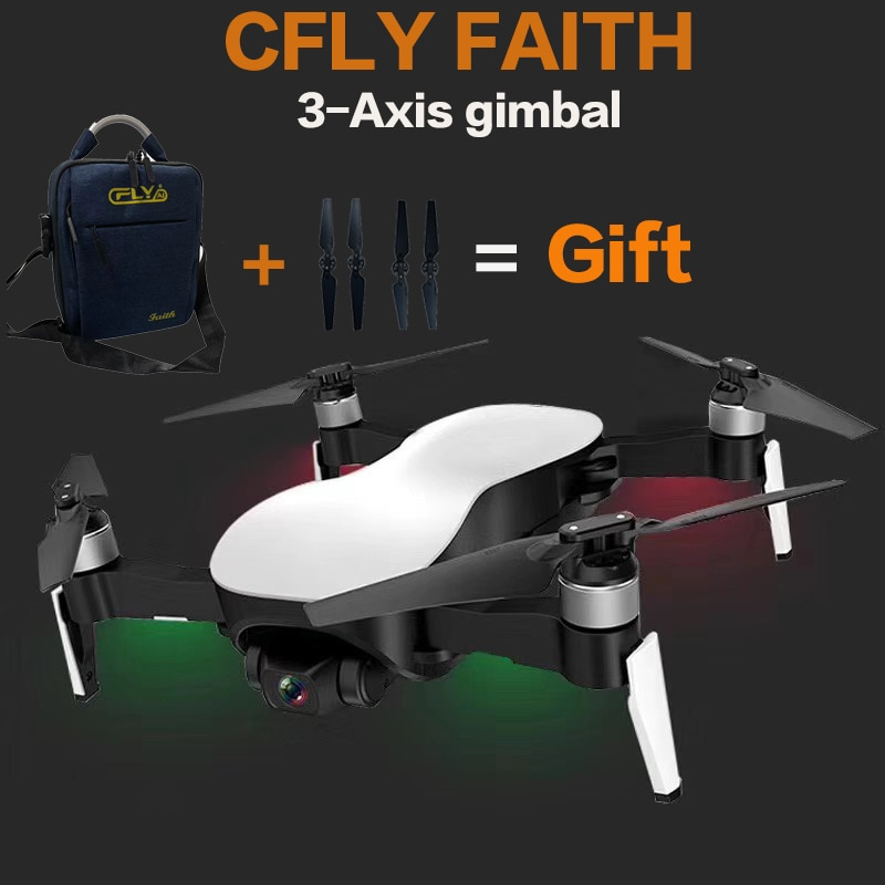 cfly c cfly faith 806 rc drone quadcopter 3 axis gimbal 4k camera 1km fpv distance optical flow vs e