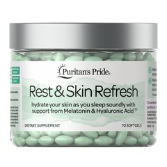 rest and skin refresh