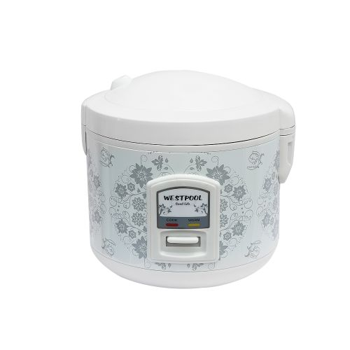 westpool wp - 28 rice cooker - 2.8 litres colour white